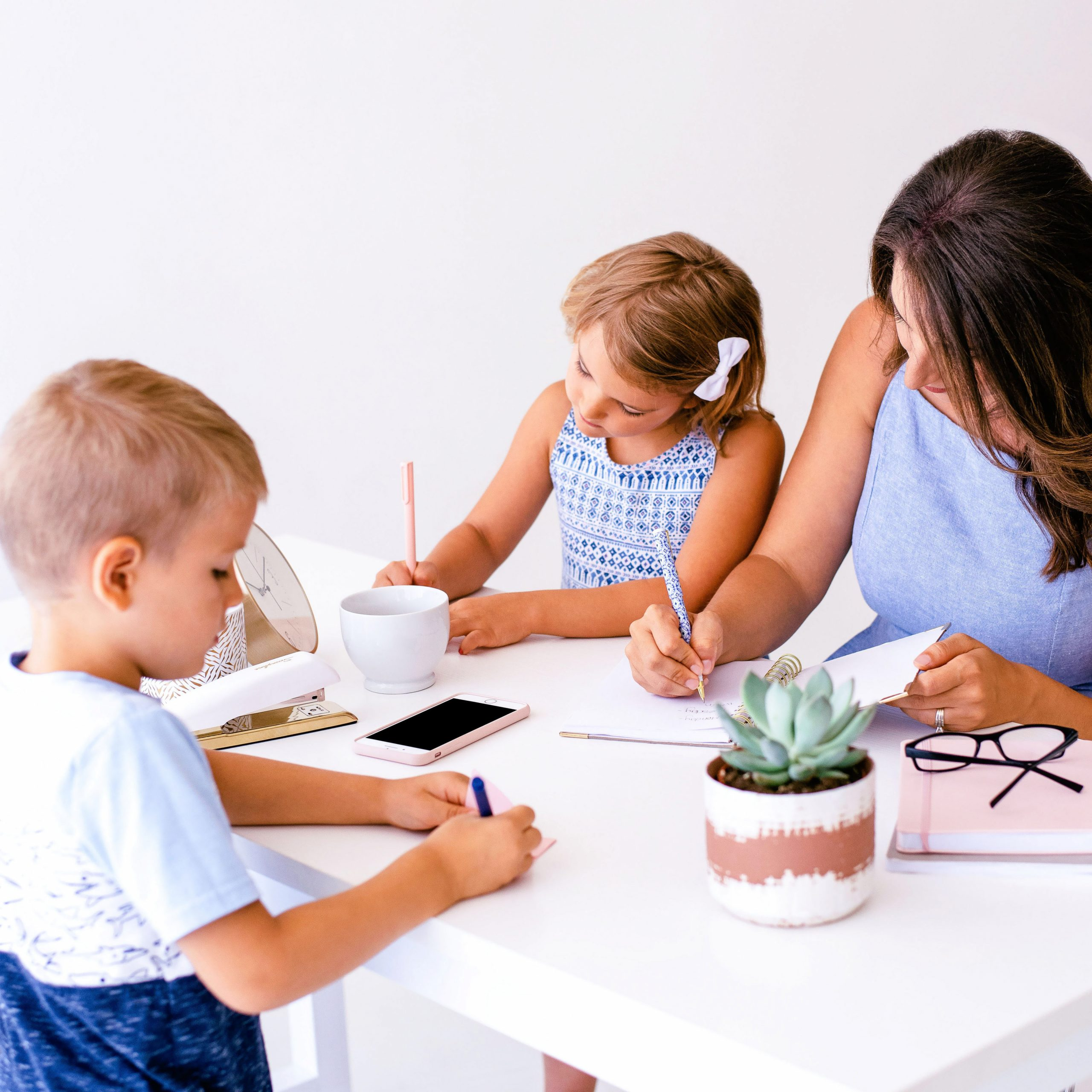 working and homeschooling can work