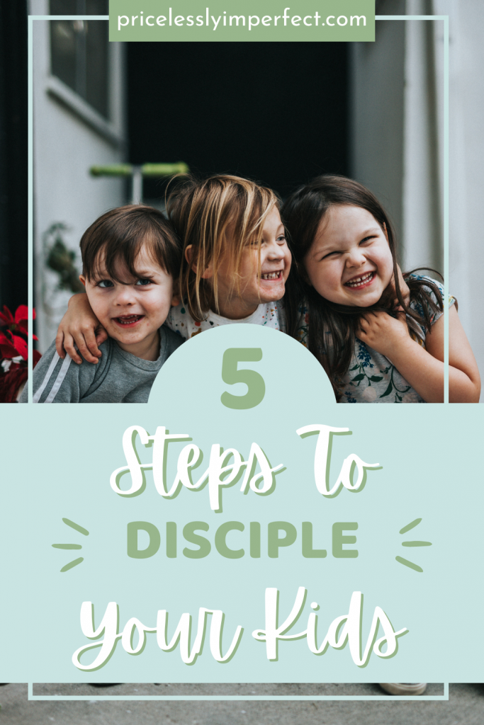5 ways you can be a disciple to your children